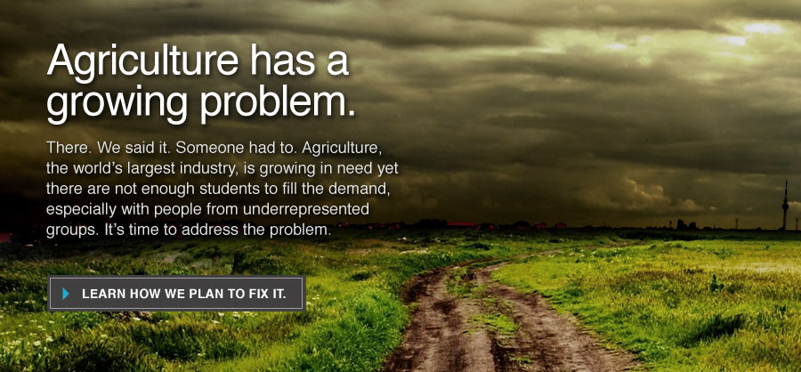 Agriculture has a growing problem. Learn how we plan to fix it.
